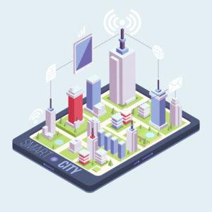 Smart City: servizi tramite wi-fi tablet e smartphone