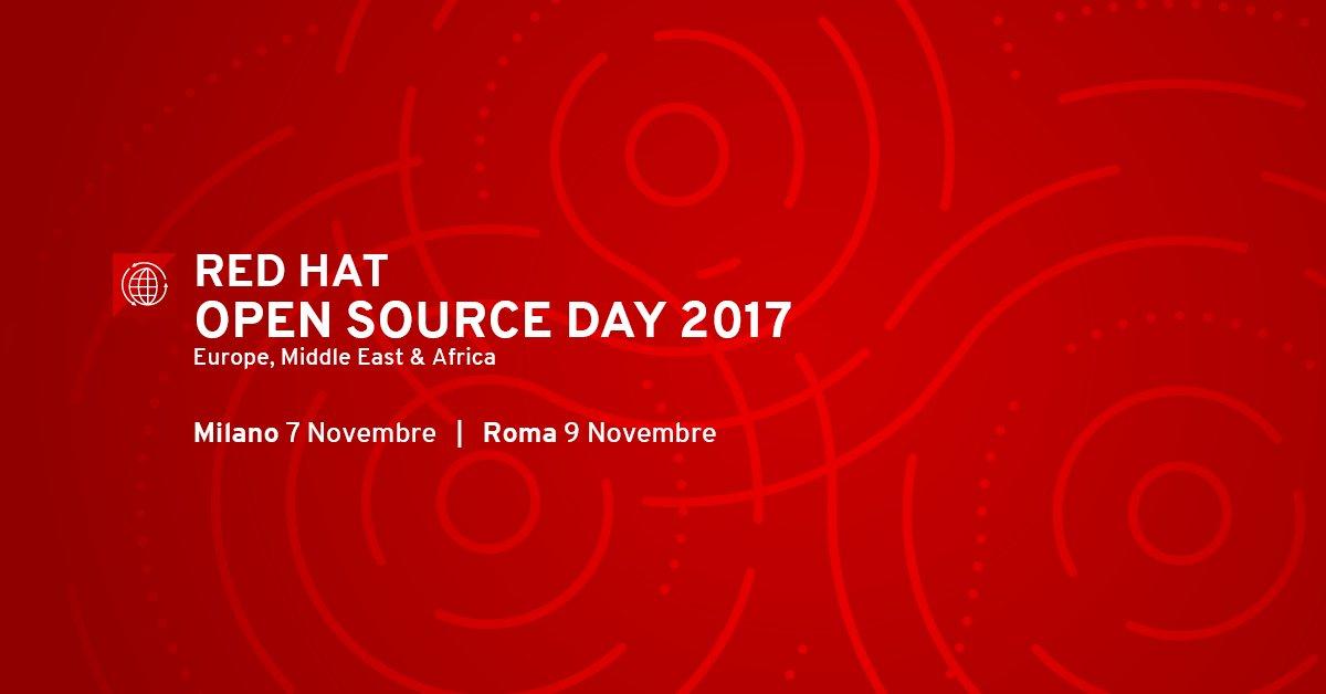 Open Source Day 2017: dibattito a Milano e Roma con Fastweb e Red Hat