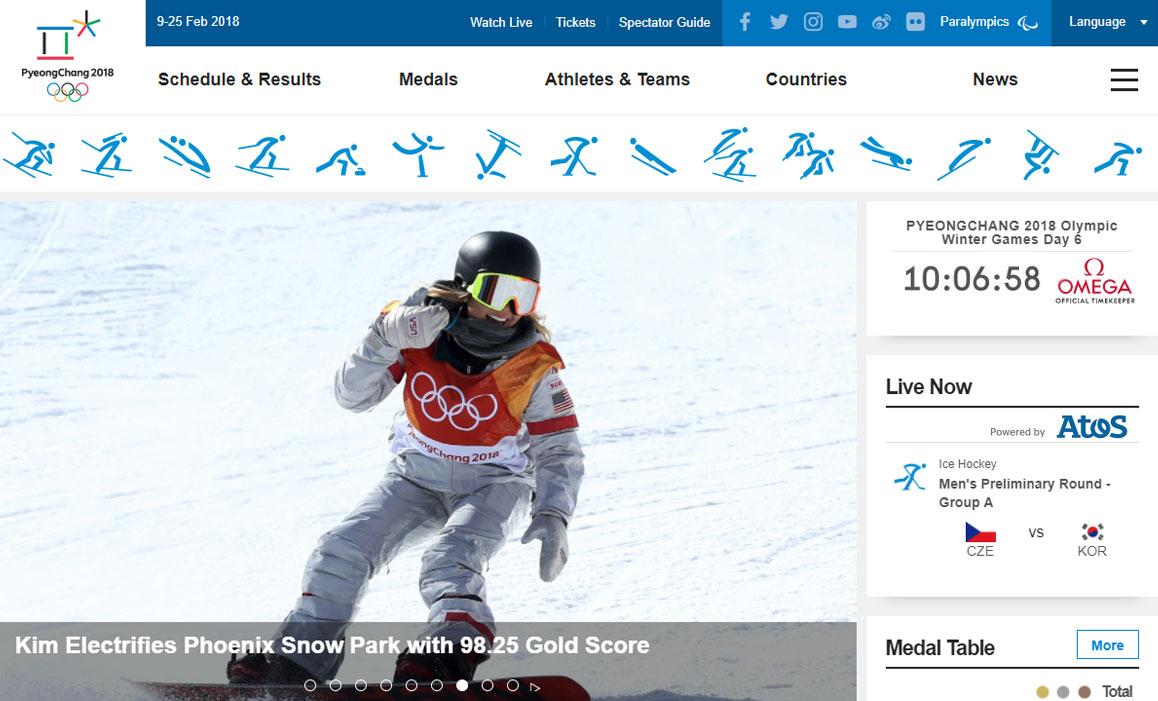 come seguire le olimpiadi invernali 2018