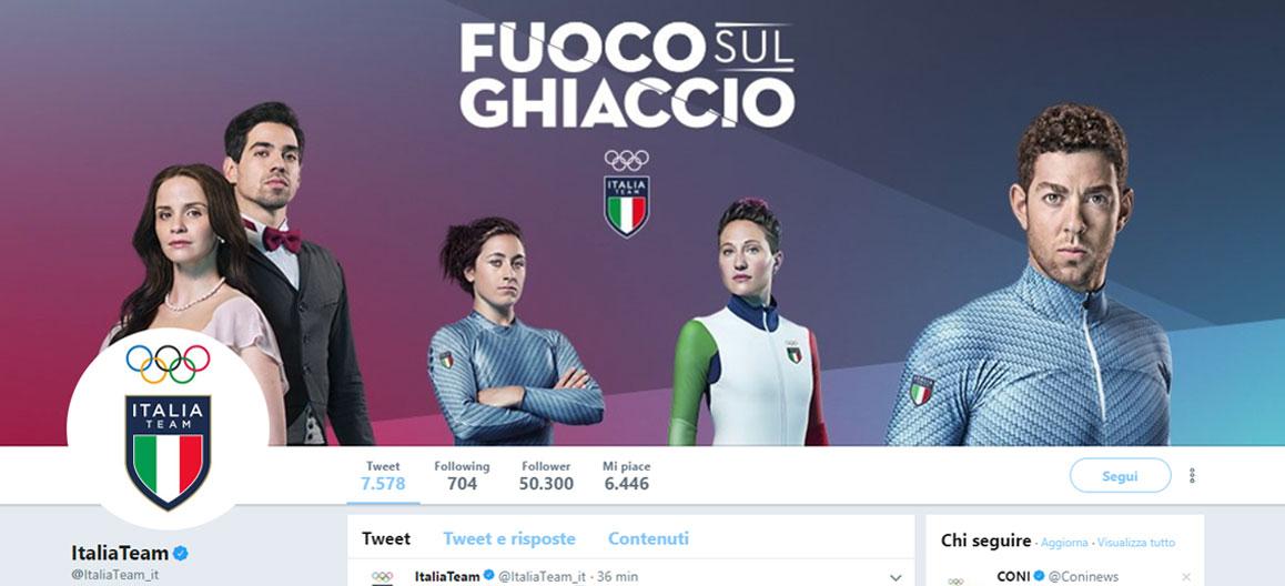 account twitter @italiateam, il dietro le quinte