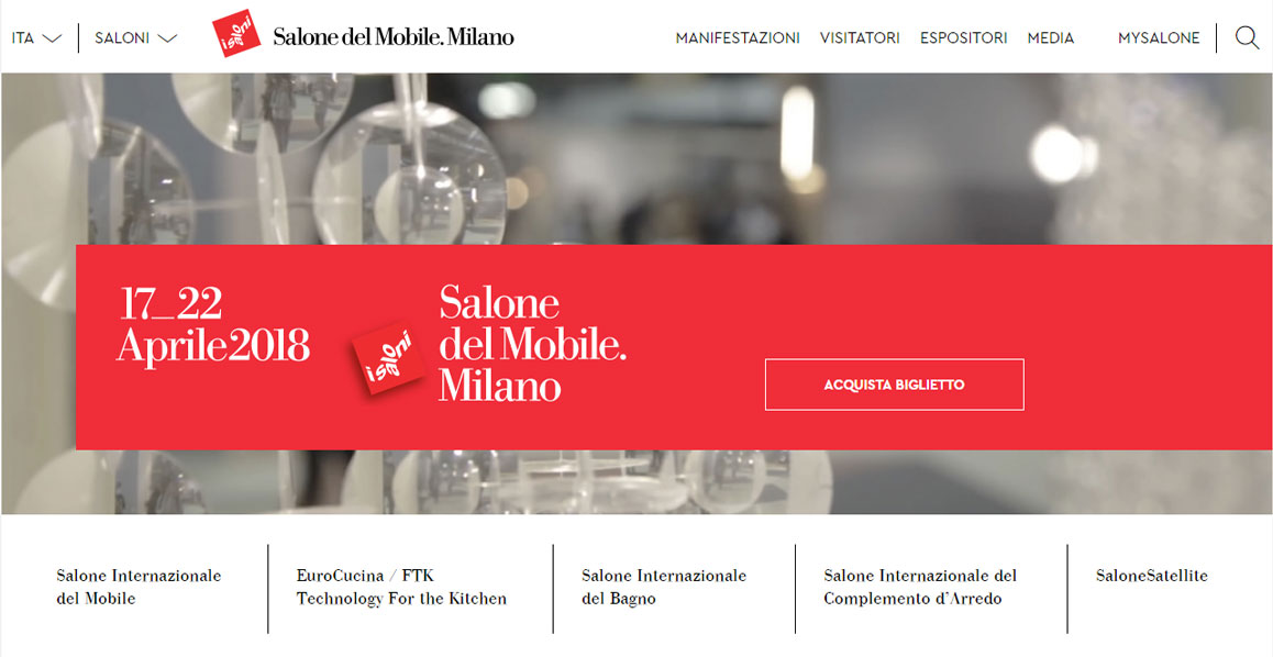 Come seguire online la Milano Design Week 2018