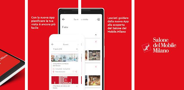 Salone del Mobile 2018: l'app